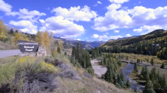 Uncompahgre National Forest Stock Footage
