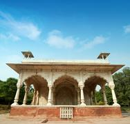 Inside The Red Fort - stock photo