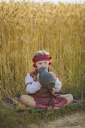 Stock Photo of girl in the Ukrainian national costume