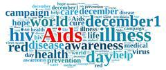 International AIDS Day. - stock illustration