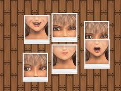 Expressions photos - stock illustration