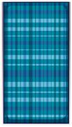 Fabric pattern in tartan design Stock Illustration