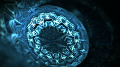 Stock Video Footage of Three dimensional abstract motion graphics