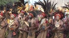 Goroka Festival Papua New Guinea 1 - stock footage