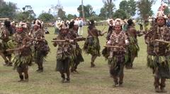 Goroka Festival Papua New Guinea 11 Stock Footage