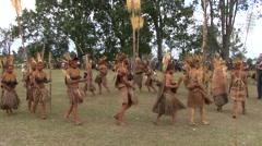Goroka Festival Papua New Guinea 13 Stock Footage