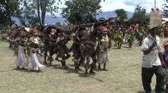 Goroka Festival Papua New Guinea 15 Stock Footage