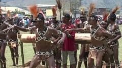 Goroka Festival Papua New Guinea 14 Stock Footage