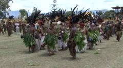Goroka Festival Papua New Guinea 16 Stock Footage