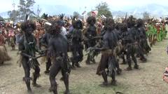 Goroka Festival Papua New Guinea 21 - stock footage