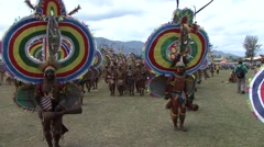 Goroka Festival Papua New Guinea 31 Stock Footage