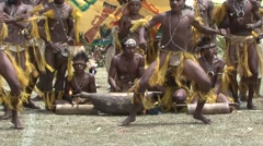 Goroka Festival Papua New Guinea 32 - stock footage