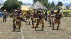 Goroka Festival Papua New Guinea 34 - stock footage