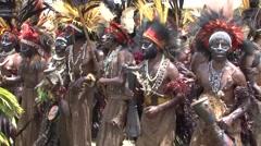 Goroka Festival Papua New Guinea 42 Stock Footage