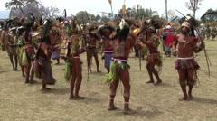 Goroka Festival Papua New Guinea. Stock Footage