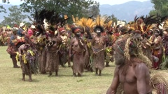 Goroka Festival Papua New Guinea 9 Stock Footage