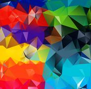 Abstract geometric background - stock illustration