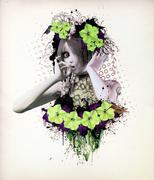Wonderful flowers - stock illustration