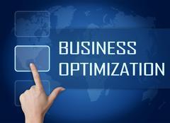 Stock Illustration of Business Optimization