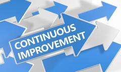 Continuous Improvement - stock illustration