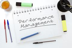 Stock Illustration of Performance Management