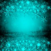 Christmas background with snowflakes. Stock Illustration