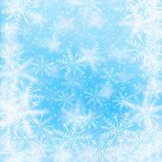 Stock Illustration of Christmas background with snowflakes.