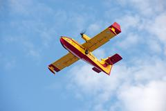 Fire Fighting Plane Stock Photos