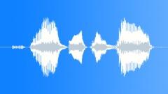 Cute cartoon raspy ask - sound effect