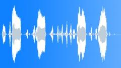 Cartoon loud hen clucking Sound Effect