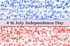 Patriotic American background - stock illustration