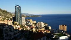 Monaco Monte-Carlo Time Lapse Stock Footage