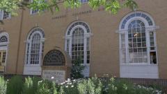 Post office in Durango - stock footage