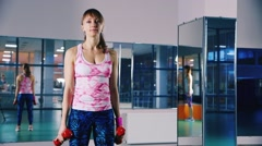 Fitness and Sports - training Stock Footage