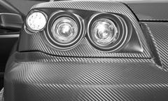 Stock Photo of Futuristic car headlight