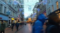 Birmingham,  New Street Shopping  centre Stock Footage