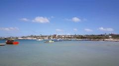 Rodger's beach on Aruba Stock Footage