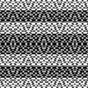 Geometric Intricate Stripe Pattern - stock illustration