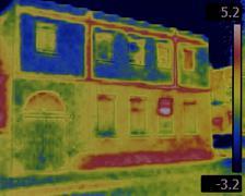 Facade Leaking Infrared Stock Photos