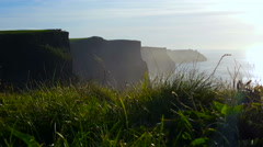 Misty Cliffs of Moher Stock Footage