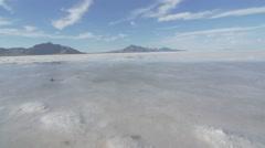 Bonneville Salt Flats 4K Arkistovideo