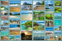 Stock Photo of Mauritius landmark collage