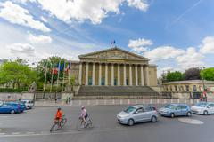 Assemblee Nationale, National Assembly, Paris, France - stock photo