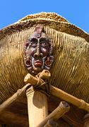 Antique indigenous idol Stock Photos
