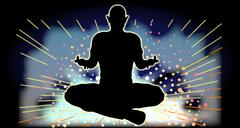 Stock Illustration of Sukhasana Yoga Pose