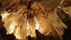 Balcarka Cave in the Moravsky Kras, Moravian Karst Stock Photos