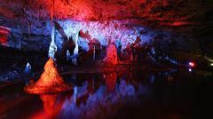 Punkva Cave in the Moravsky Kras, Moravian Karst Stock Photos