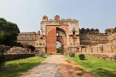 purana qila, Delhi - stock photo