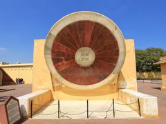 Stock Photo of Astronomical instruments at Jantar Mantar observatory, Jaipur