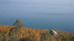 The Sea of Galilee, Israel, Asia Stock Footage